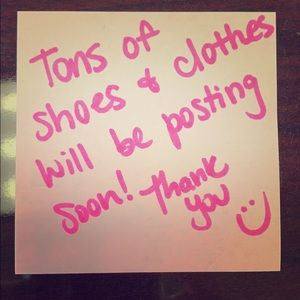 Tops - Clothes & tons of shoes coming soon!👗🧥👚🥿👠👡👢